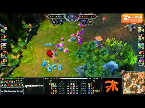FnaticRC vs SK Showmatch - Game 1