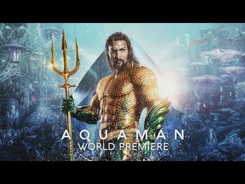 Aquaman - London Premiere Hightlight