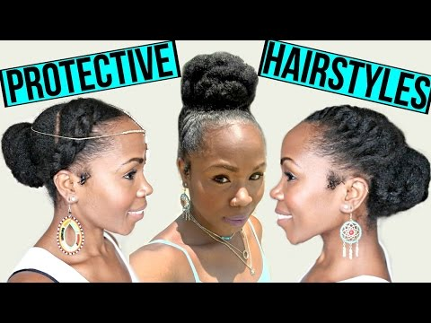 FAST Protective Hairstyles For Hair Growth & Length Retention | NATURAL HAIR