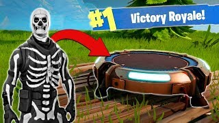 Using The NEW Jump Pad [Fortnite BR]