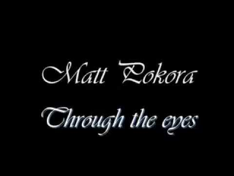 Tekst piosenki Matt Pokora - Through the eyes po polsku