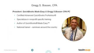 Webinar - QuickBooks for Newer Nonprofit Desktop Users - 2016-07-19 full download video download mp3 download music download