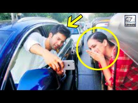 Varun Dhawan's DANGEROUS Selfie Caused Fine By Mum