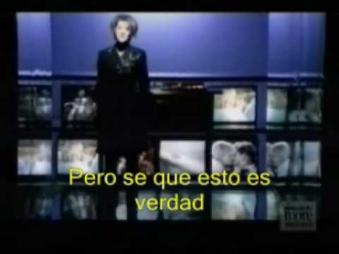 Celine Dion Because You Loved Me (en Español)