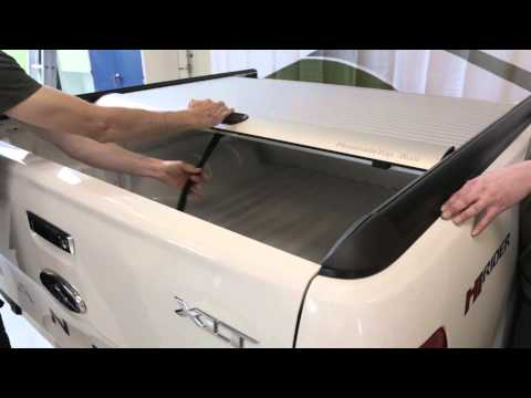 Mountain Top Roll cover fitting (видео)