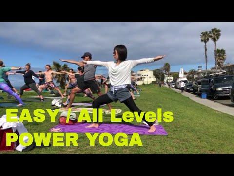 All Levels Oceanfront Power Yoga