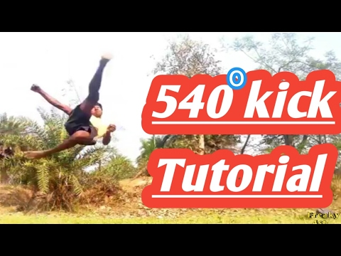 540 Kick Turorial !!!!(HINDI)