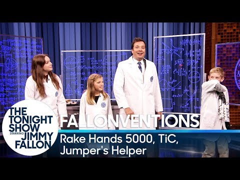 GE Fallonventions: Rake Hands 5000, TiC (Tongue-Interface-Communication), Jumper's Helper