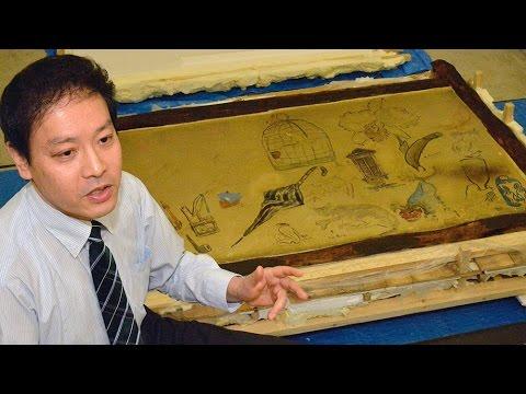 """文化人の""""寄せ描き""""を保存へ 神戸の美術館で初公開"""