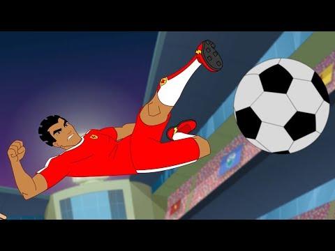 Supa Strikas   Broken Record   Soccer Cartoons for Kids   Sports Cartoon