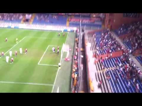 Genoa-Fiorentina 2-5 Gol di Aquilani Live dal Settore Ospiti (Gol dello 0-1)