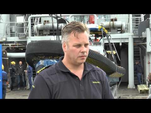 Visa film KBV001 avfärd till Medelhavet - Peo Allard om operation Triton.