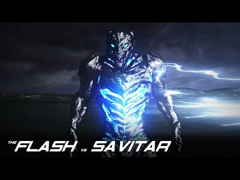 The Flash VS Savitar - CW 3D Fan Animation By Renz