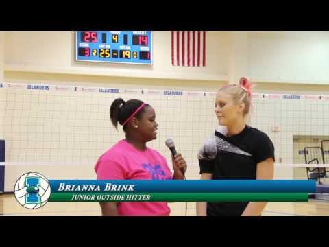 Postmatch Interviews Following Dig Pink Win