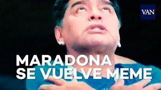 MUNDIAL DE RUSIA 2018 | Los memes de Maradona en el Argentina-Nigeria