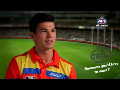 living - Dream job outside of footy, person they'd love to meet, sporting event to attend. For more video, head to http://afl.com.au.