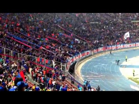 Salida Los de Abajo / Udechile vs iquique - Los de Abajo - Universidad de Chile - La U