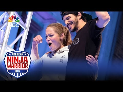 Erika Christensen's Run - Celebrity Ninja Warrior for Red Nose Day