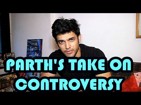 Parth Samthaan breaks silence on the controversy