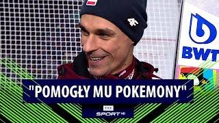 """""""Dawida odblokowały… Pokemony"""". Piotr Żyła zdradził tajemnicę sukcesu Kubackiego"""