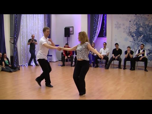 Swing & Snow 2018, JnJ All Star, Olga Malafeevskaya — Konstantin Baranov