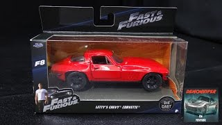 Nonton Fast & Furious 8 - Letty's 1966 Chevy Corvette Stingray - Jada Toys 1:32 Unboxing Film Subtitle Indonesia Streaming Movie Download