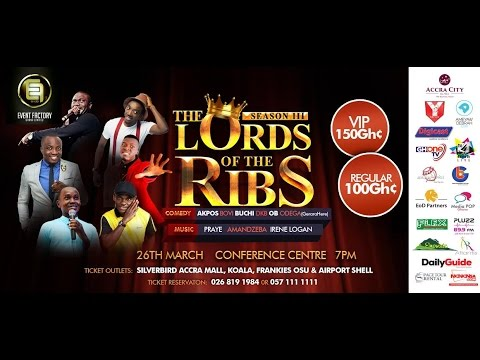 AKPORORO NEW JOKES AT THE LORD OF THE RIBS