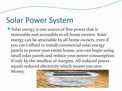 Home Solar Power System   DIY Solar Power