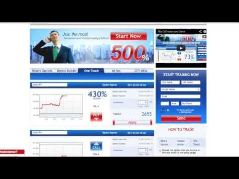 Binary Options – The Best Binary Options Platform