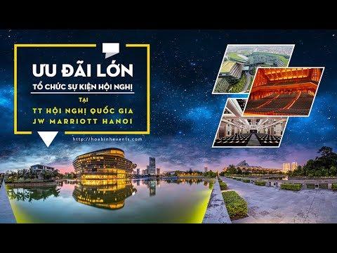 Hoabinh Group Tung Khuyến Mãi Tổ Chức Hội Nghị Sự Kiện Tại JW Marriott Hotel
