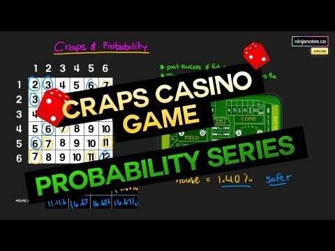 Probabilites with Casino Craps Dice Game (Casino Probability Series)