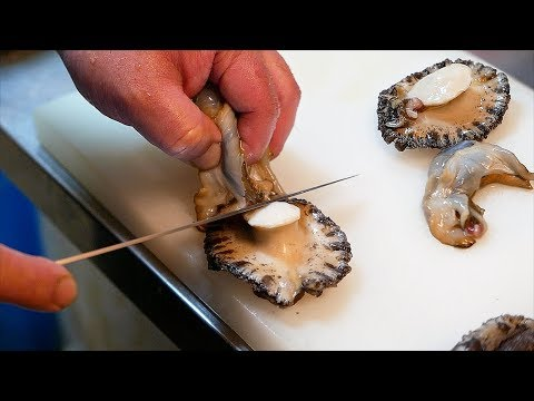 Japanese Street Food - GIANT SEA SNAIL Abalone Sashimi Okinawa Seafood Japan - Thời lượng: 34 phút.