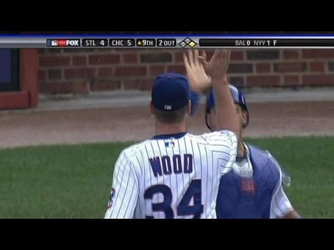 NL Central - Kerry Wood closes out the Cardinals as the Cubs win their second-straight NL Central title Check out http://m.mlb.com/video for our full archive of videos, a...