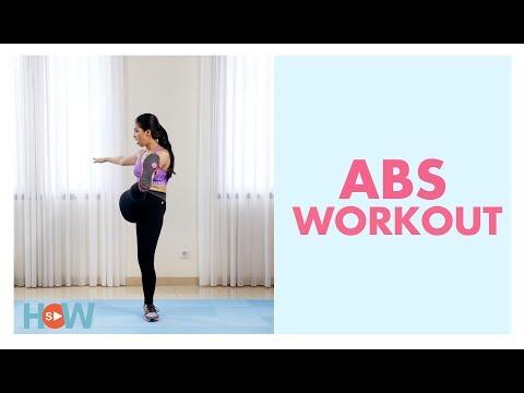 Latihan Mengecilkan Perut (Abs Workout)   Video Olahraga Fitness Pemula