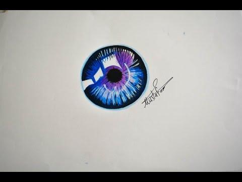 تعلم رسم بؤبؤ العين