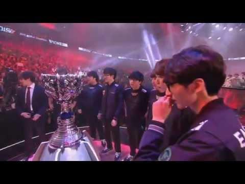 Giây phút SKT T1 đăng quang tại Chung kết Thế giới mùa 2015