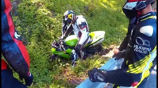 Video MOTORCYCLE CRASHES ON THE ROAD & Car Closes the Road in Front of the Biker. (150 000 SUB.. THANKS!) MP3, 3GP, MP4, WEBM, AVI, FLV Juli 2019