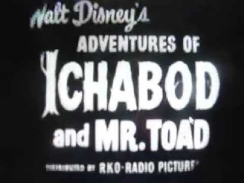 The Adventures Of Ichabod And Mr. Toad 1949 Theatrical Trailer