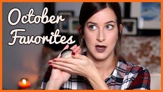 October Favorites 2016 | Alli