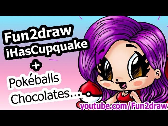 Fun2draw-ihascupquake-collab-pokeballs