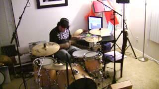 Regulate & Let Me Ride Warren G & Dr. Dre Mash Up Drum Cover By Jason Heine