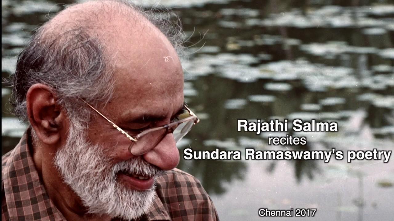 Salma Recites Sundara Ramaswamy's Poetry