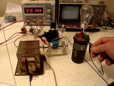 TROS - low power alternative to Tesla Coil based on Spark-Gap-Generator actuated by Transistor Oscillator.