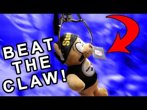 HOW TO WIN AT A RIGGED CLAW MACHINE!
