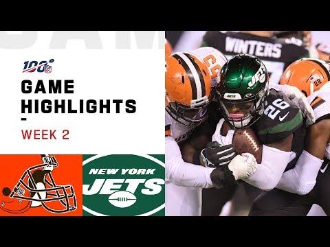 Browns vs. Jets Week 2 Highlights | NFL 2019