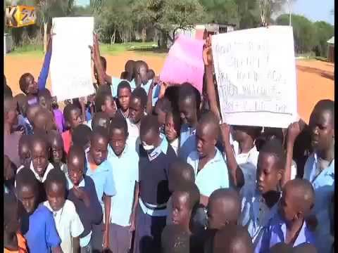 Residents of West Pokot descends on contractors accused of hurting pupils