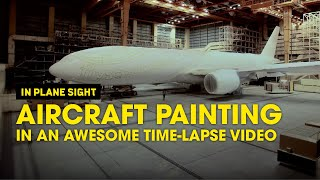 Video Aircraft Painting in an Awesome Time-lapse Video - Scoot MP3, 3GP, MP4, WEBM, AVI, FLV Juni 2018