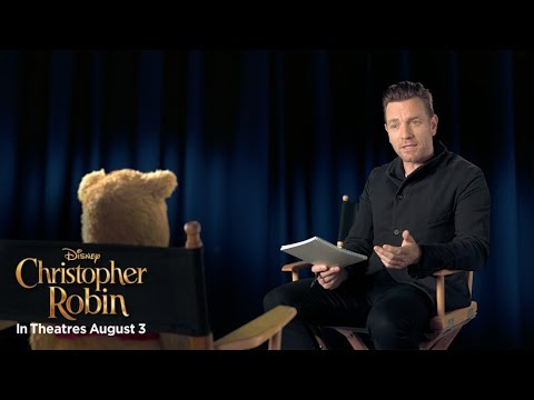 """Christopher Robin  """"Welcome to the Hundred Actor Wood"""" Featurette"""