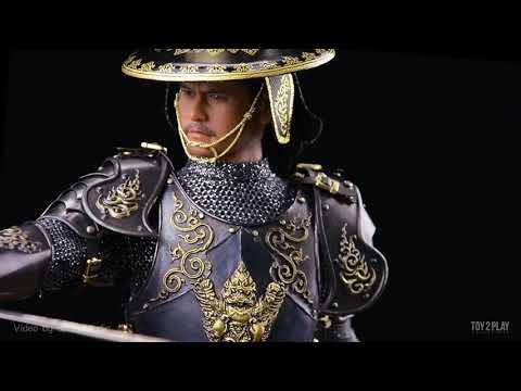 Video Present ชุดผ้า1/6 สมเด็จพระนเรศวรมหาราช King Naresuan [Toy2plays]