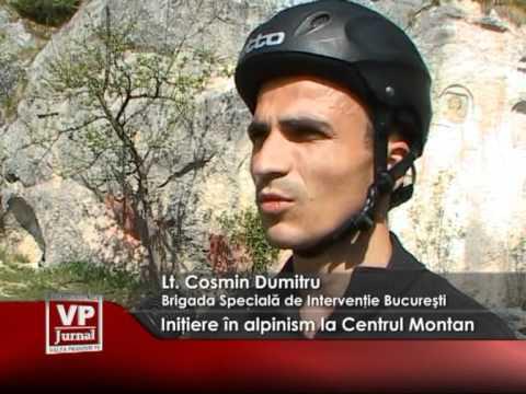 Iniţiere în alpinism la Centrul Montan